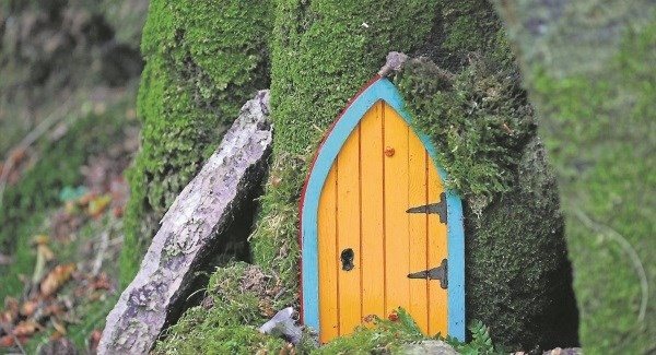 dromkeen wood fairy door