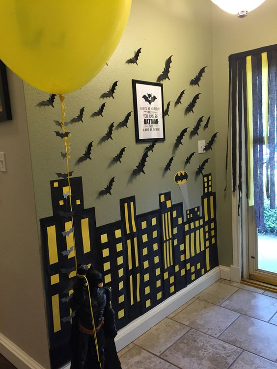 Superhero Theme Party Decorations