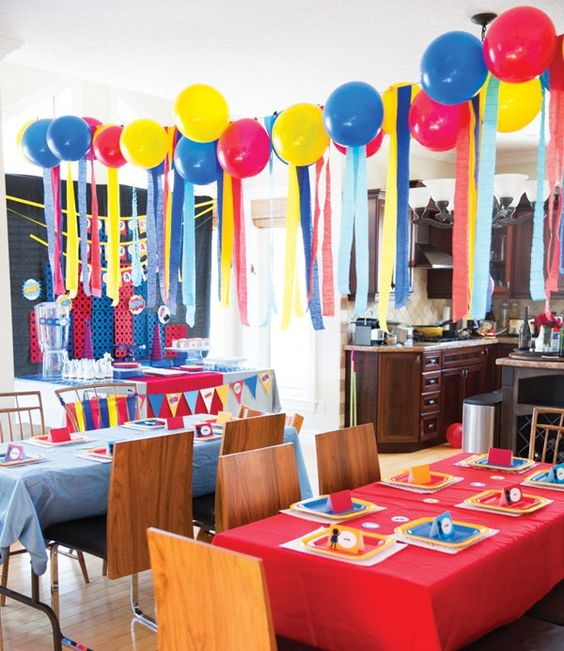 superhero theme party decorations image from pintrest