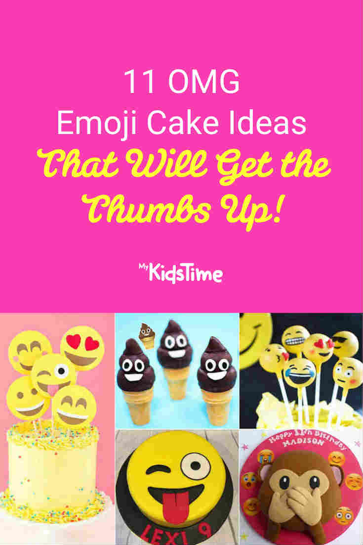 11 OMG Emoji Cake Ideas That Will Get The Thumbs Up - Mykidstime