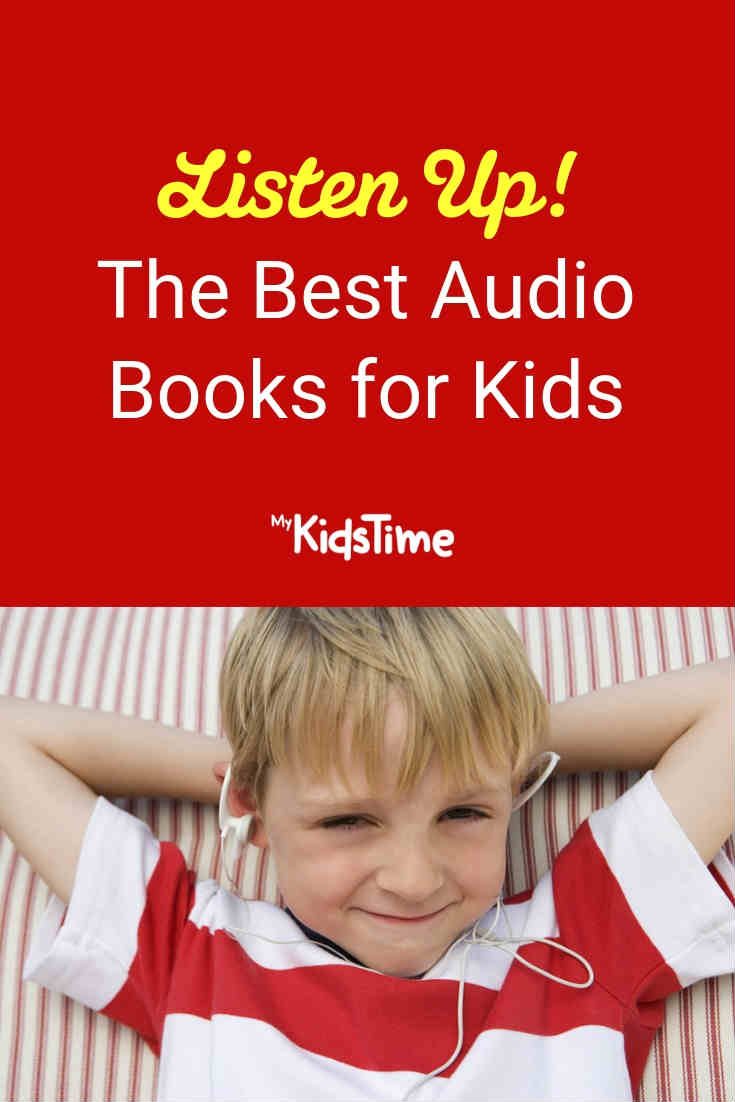 Best audio books for kids - Mykidstime