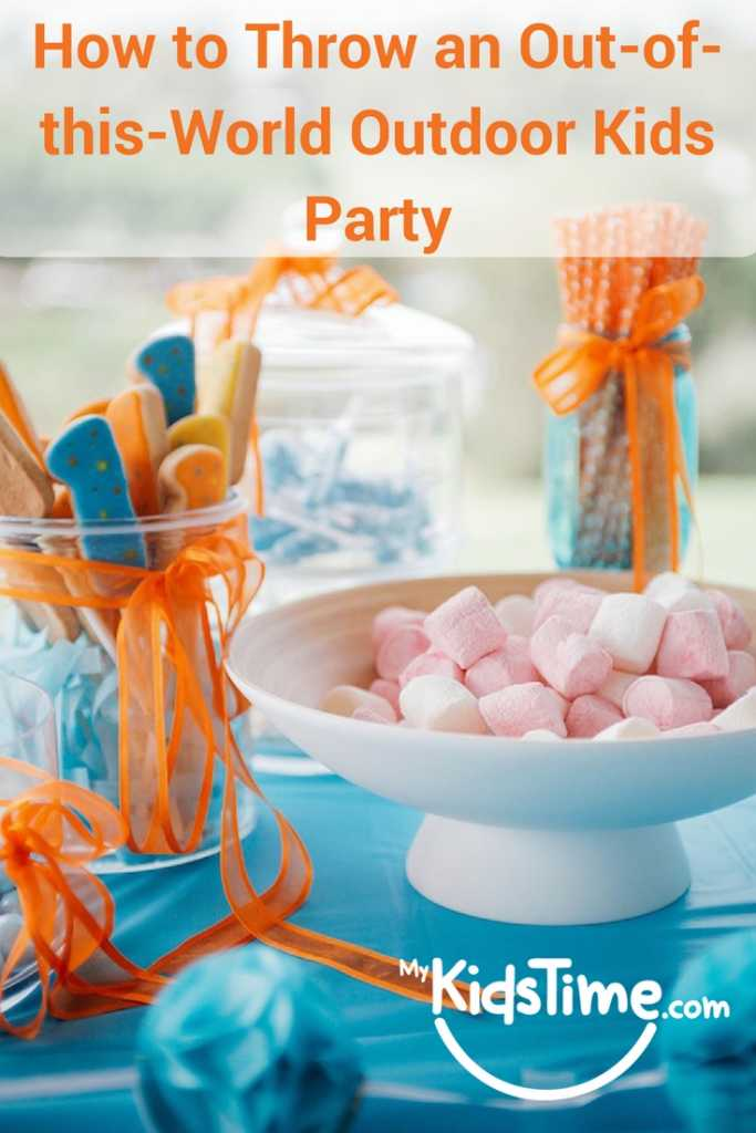 How to Throw an Outdoor Kids Party