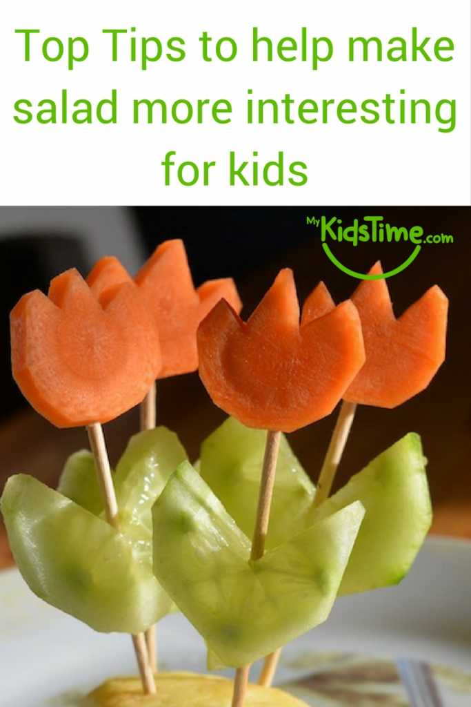 Tips to Make Salad More Interesting for Kids