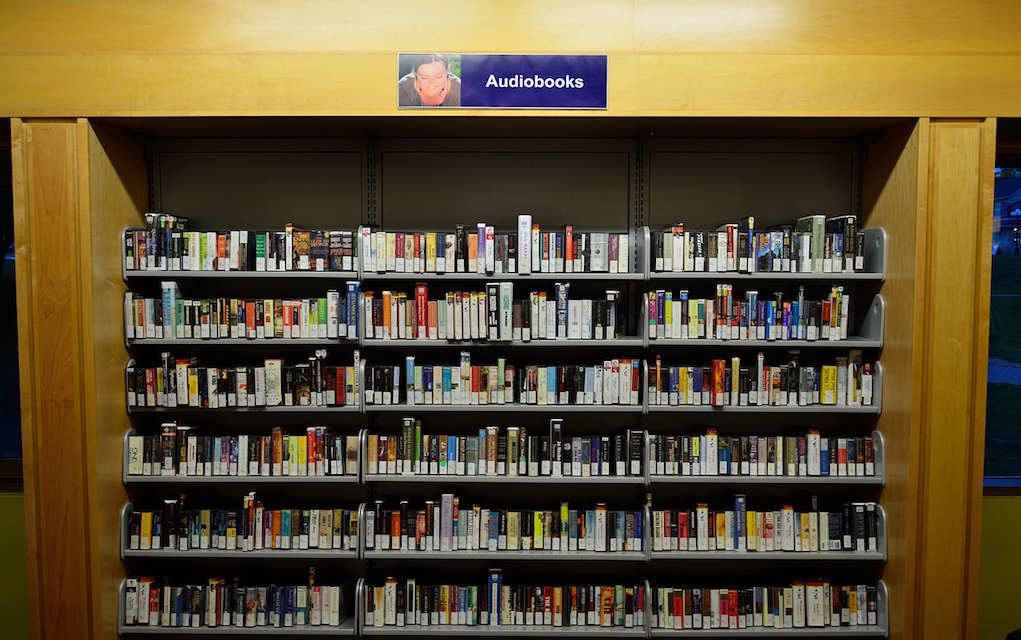 Audio Books in Library