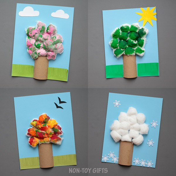 four seasons trees craft