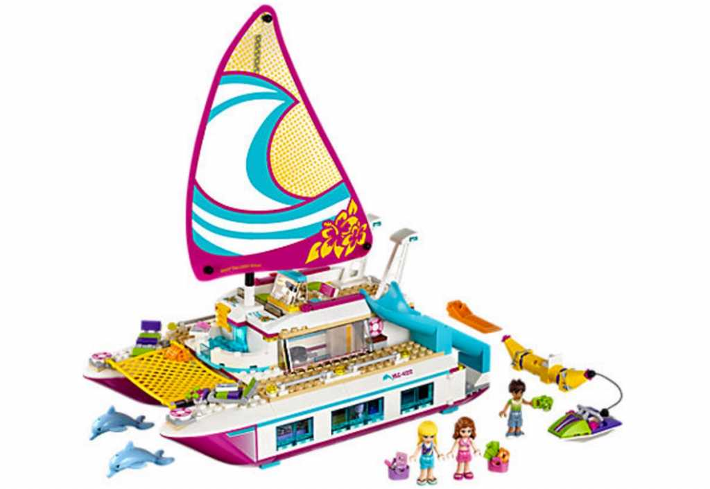 hot toys for christmas 2017 Lego Friends Sunshine Catamaran