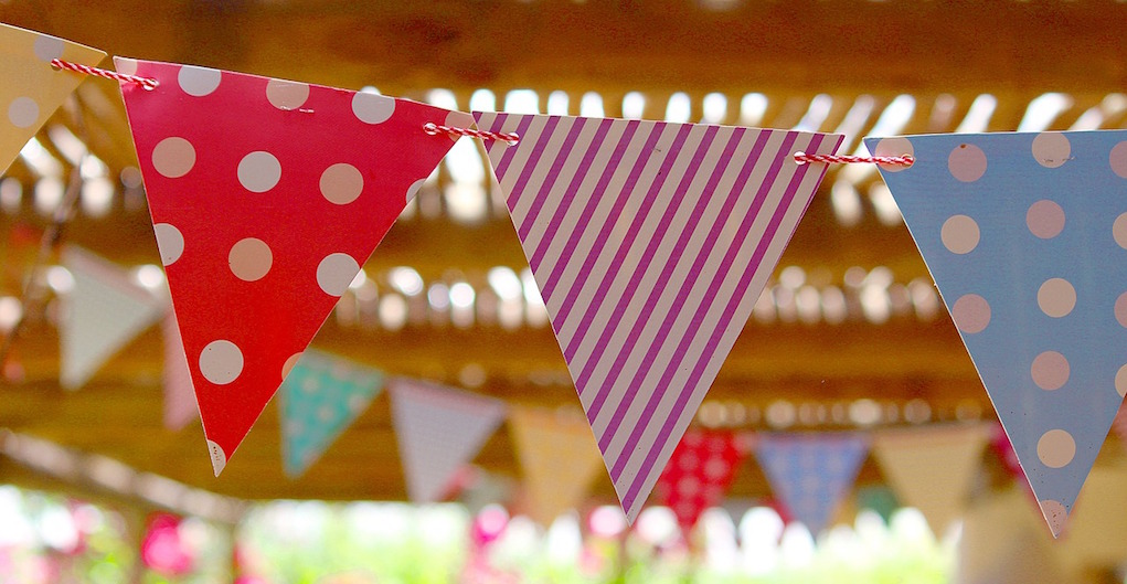 outdoor kids party themed