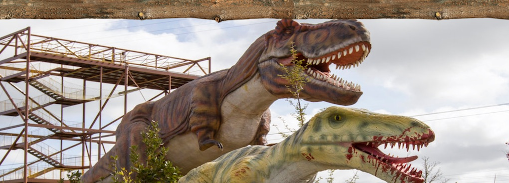 places to see dinosaurs tayto park