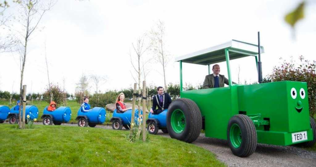 low cost things to do in Ireland tractor ted the farm grenagh