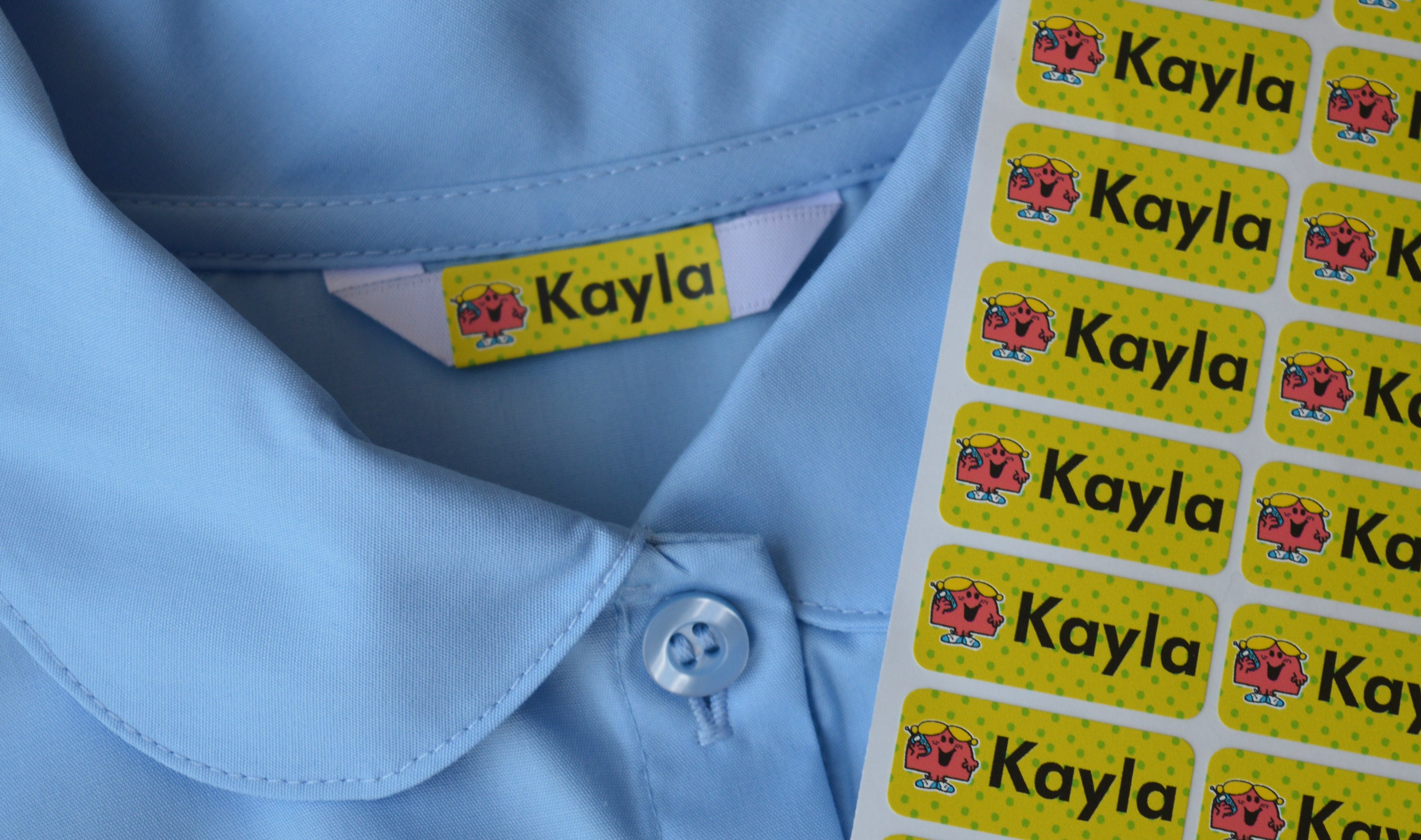 school uniform label caring for school uniforms