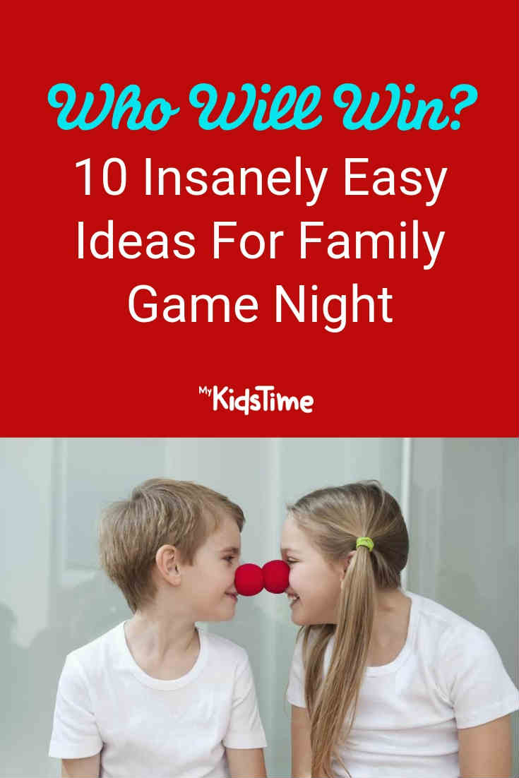 10 insanely easy ideas for family game night - Mykidstime