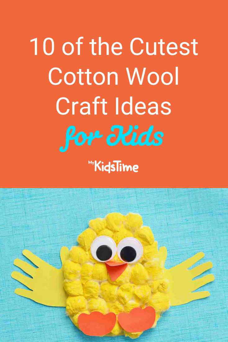 10 of the Cutest Fluffiest Cotton Wool Craft Ideas for Kids - Mykidstime