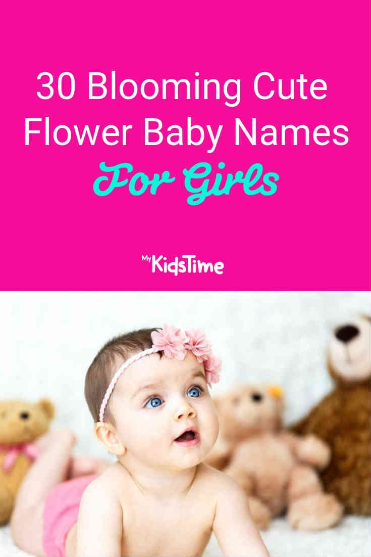 30 blooming cute flower baby names for girls - Mykidstime