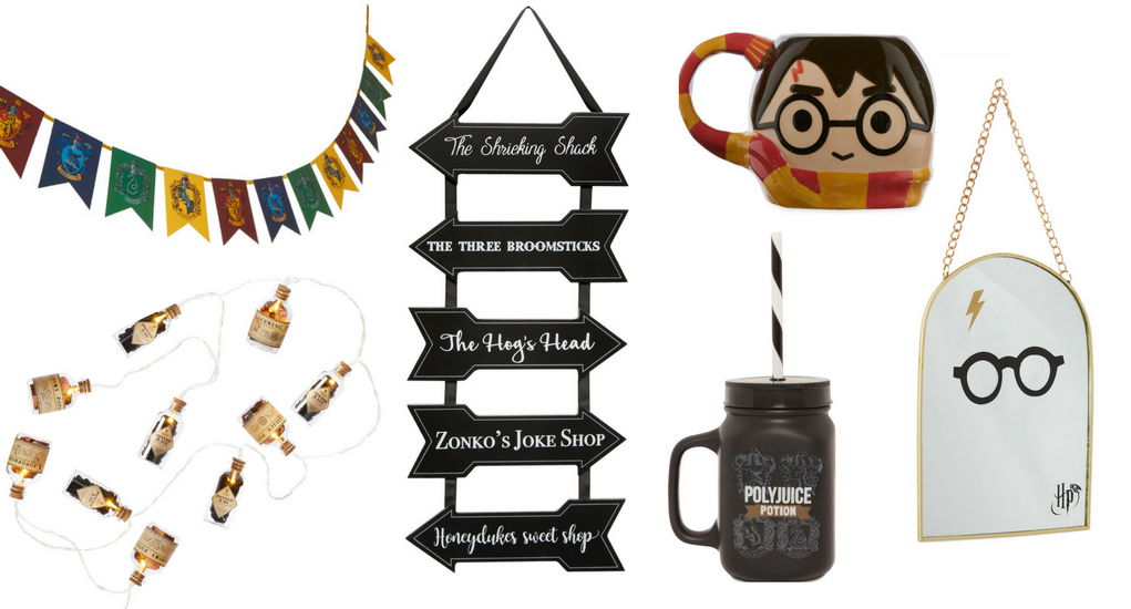 Harry Potter range at Penneys