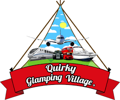 quirky glamping village
