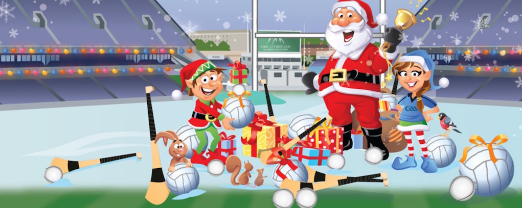 Visit Santa in Ireland at Croke Park