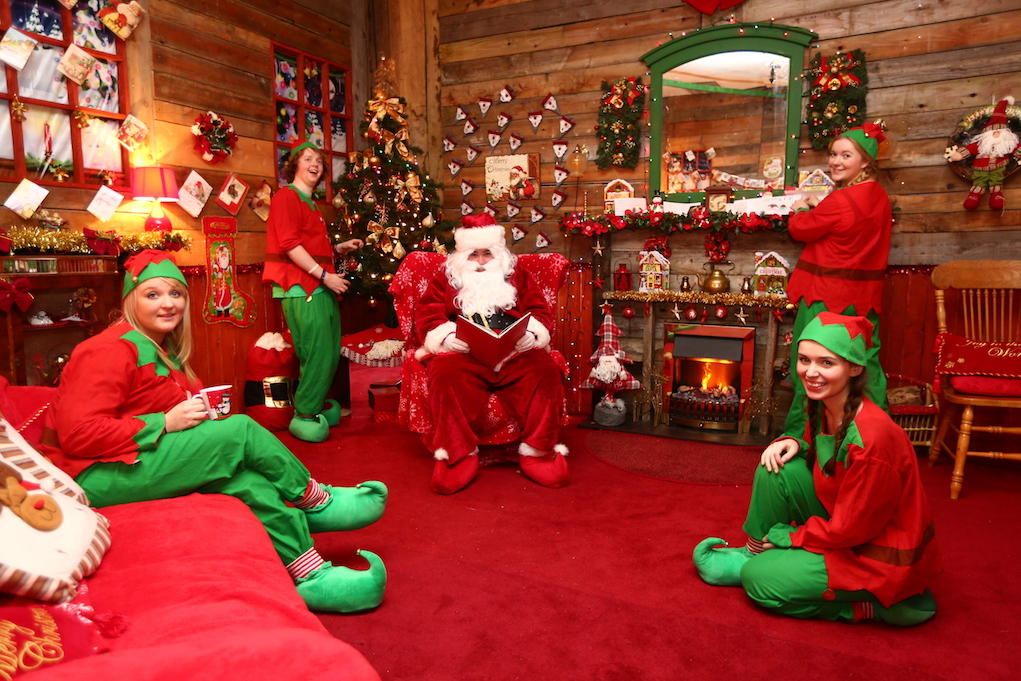 The Santa Experience vist Santa in Ireland at Dunnes Stores Cork