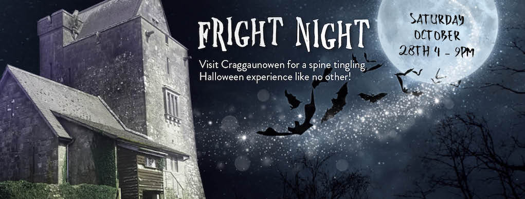 Fright Night at Carggaunowen Halloween events for families in Ireland
