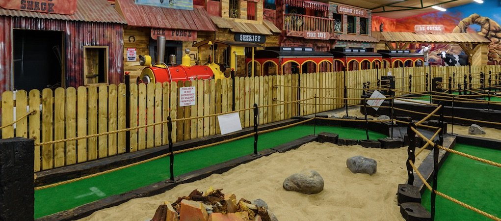 Kildare Farm Foods railway and crazy golf