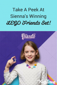 Sienna's Winning LEGO Set