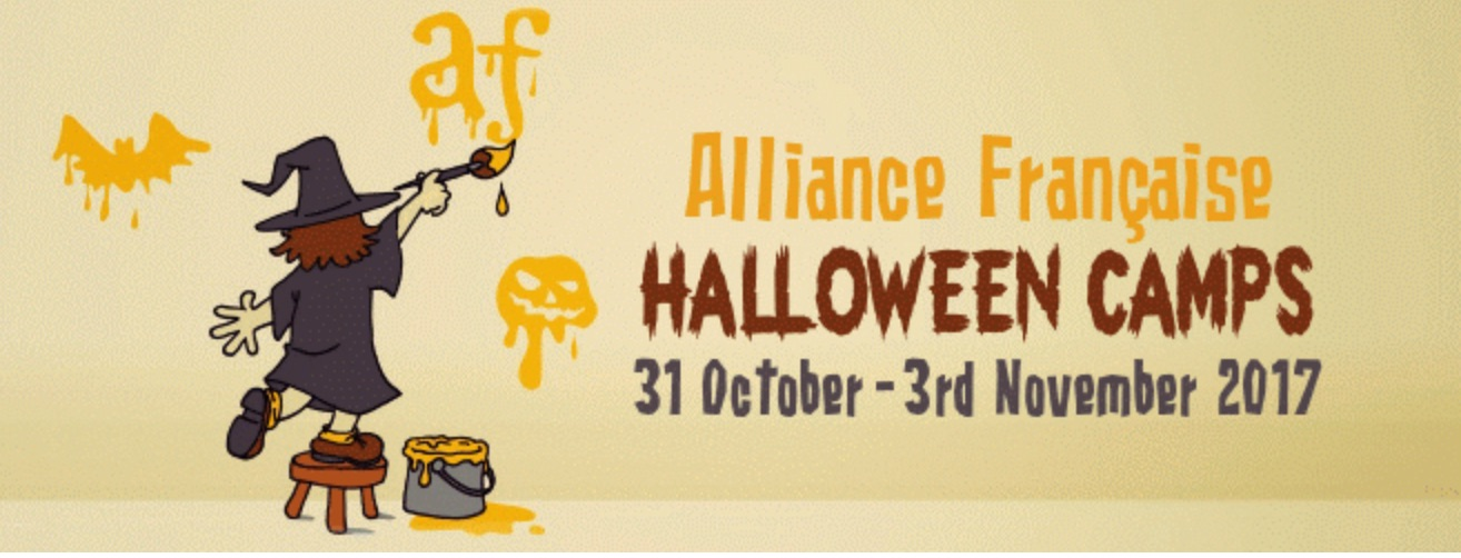 alliance francaise halloween camps 2017