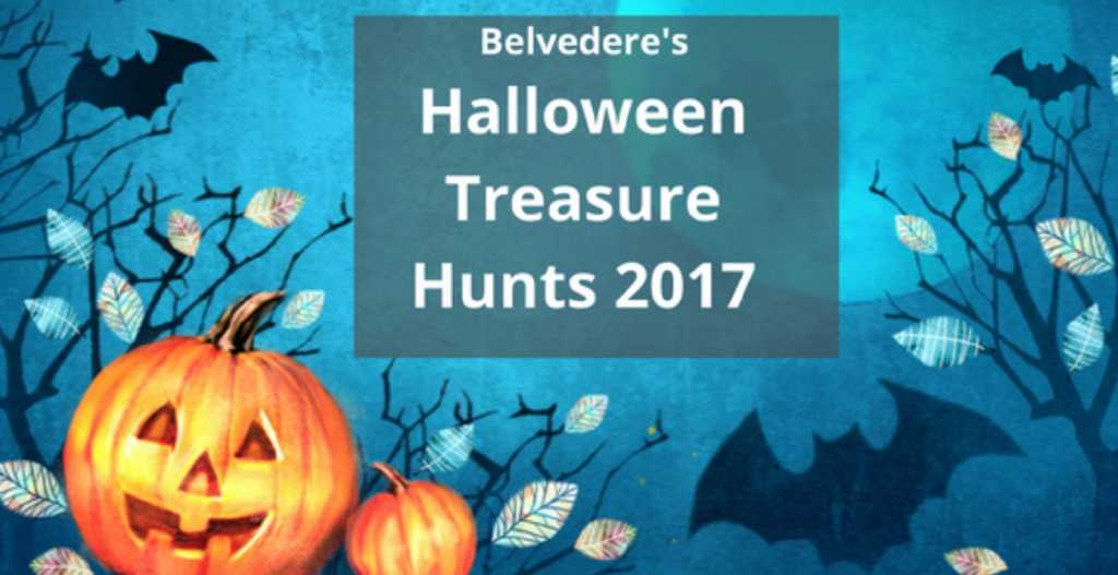 belvederes halloween treasure hunts 2017