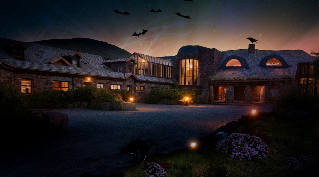 Delphi resort for halloween breaks for families in Ireland