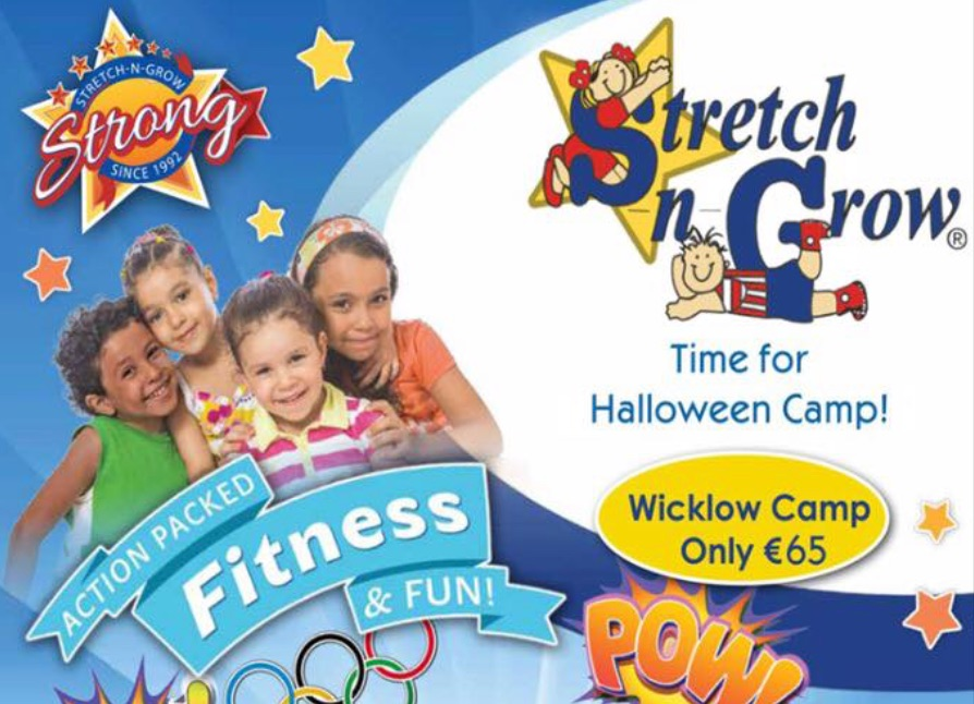 stretch and grow Wicklow Halloween Camp