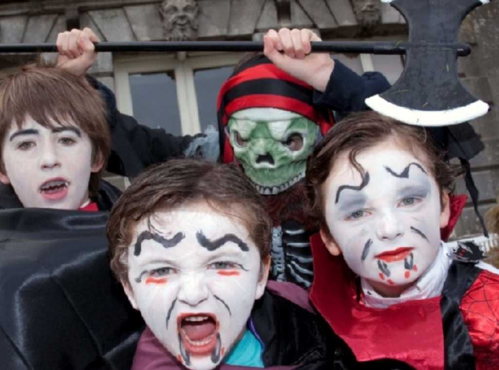 Things to do for families in Ireland Halloween Fest at Westport House