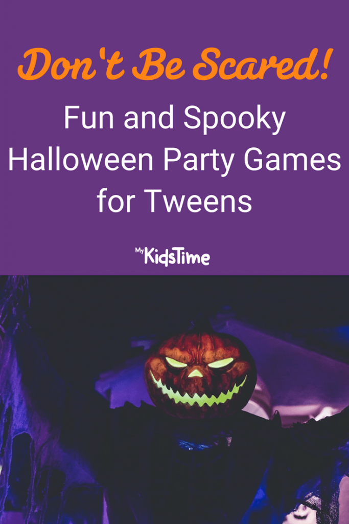 Mykidstime Halloween party games for tweens