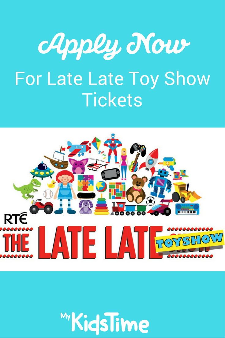 Apply Now For Late Late Toy Show Tickets