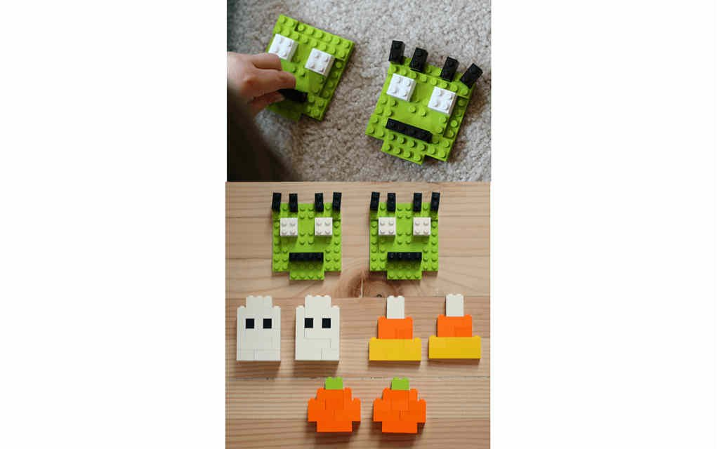 Lego Halloween - No Time for Flashcards