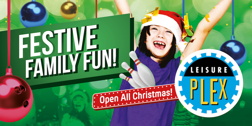 Christmas events bowling at Leisurplex