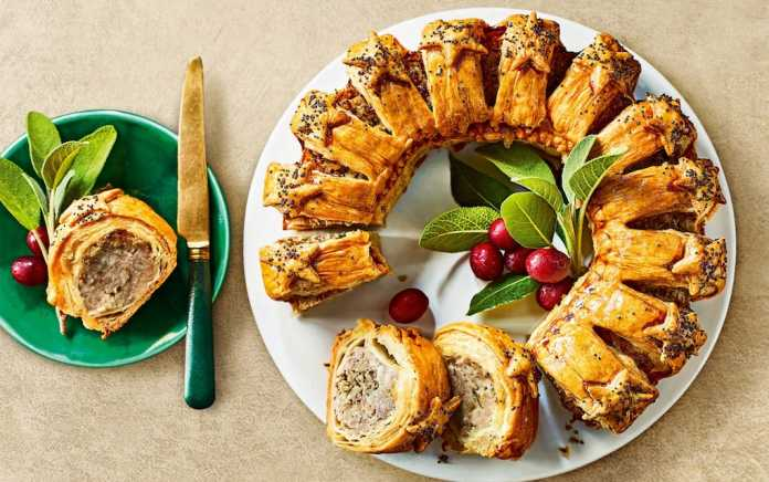 Marks and Spencer Canapes Sausage Roll
