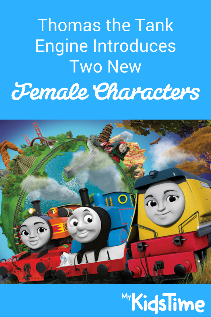 Thomas The Tank Engines New Female Characters