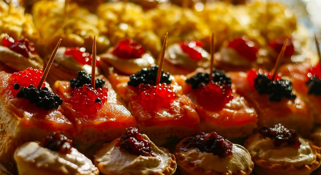 festive canapes and drinks ideas