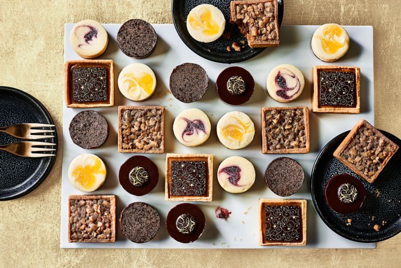 festive canapes and drinks ideas M&S sweet canapes