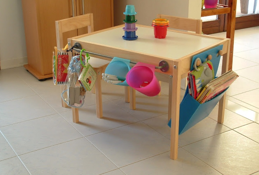 perfect playroom ideas adapted table from Ikea hackers