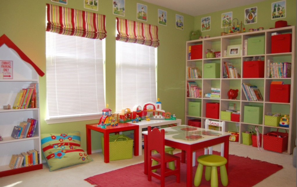 perfect playroom ideas storage at eye level
