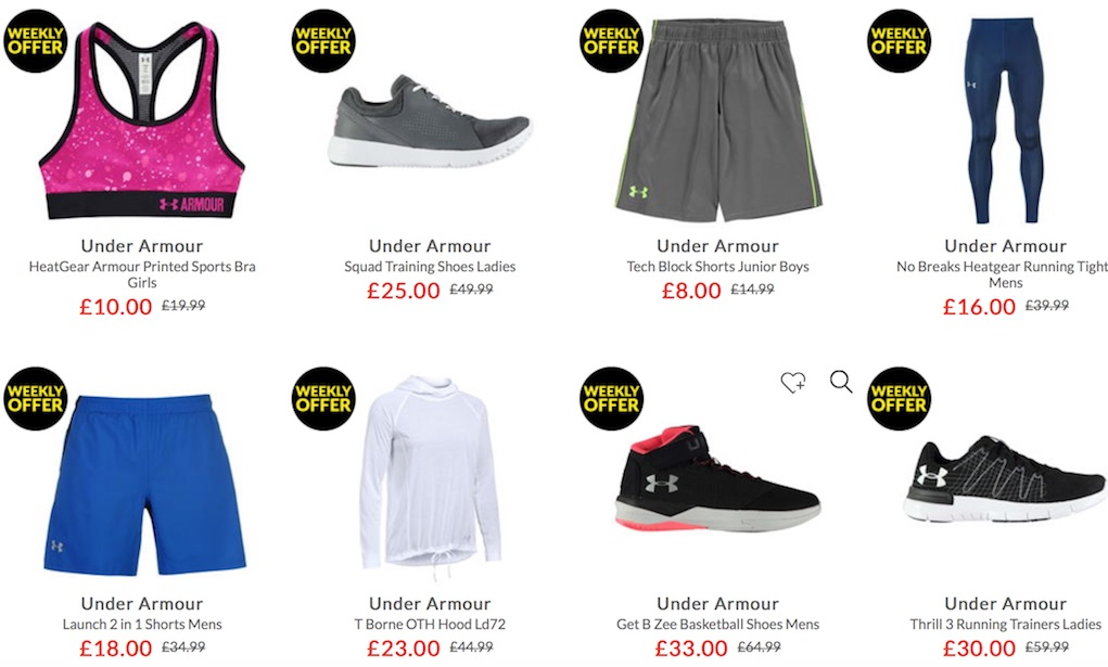 Under Armour at Sports Direct