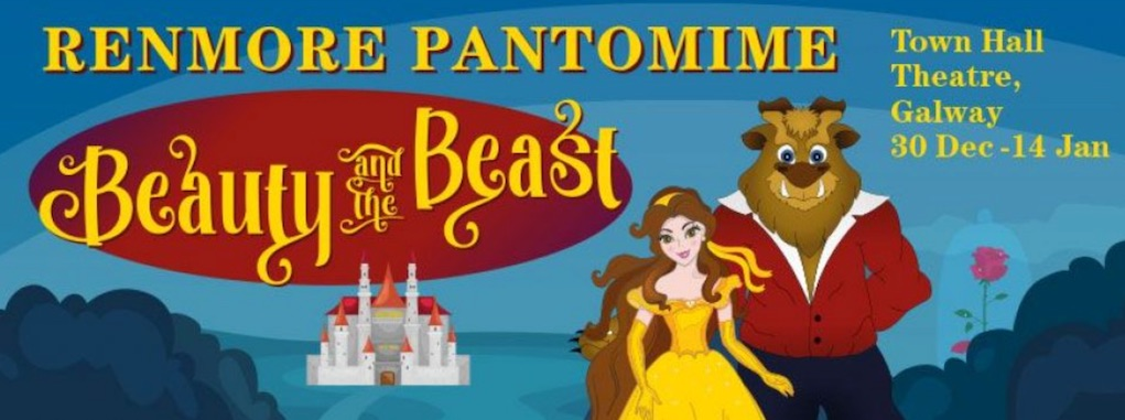 Beaty and the Beast The Rnemore Pantomine at The Town Hall Theatre. Best Pantos Ireland