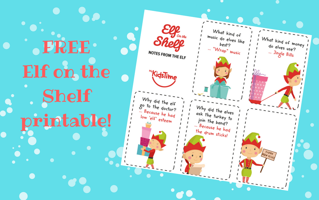 picture about Free Elf Printable called Include Some Festive Enjoyment With Absolutely free Printable Elf Jokes