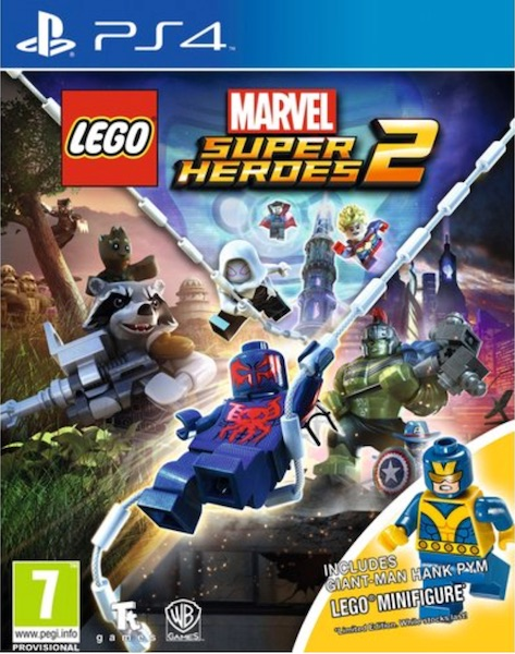 Best Video Games for kids LEGO Marvel Super Heroes 2