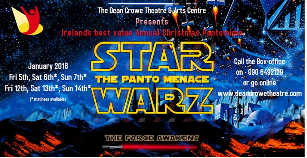 Star Warz The Panto Menace best pantos in Ireland