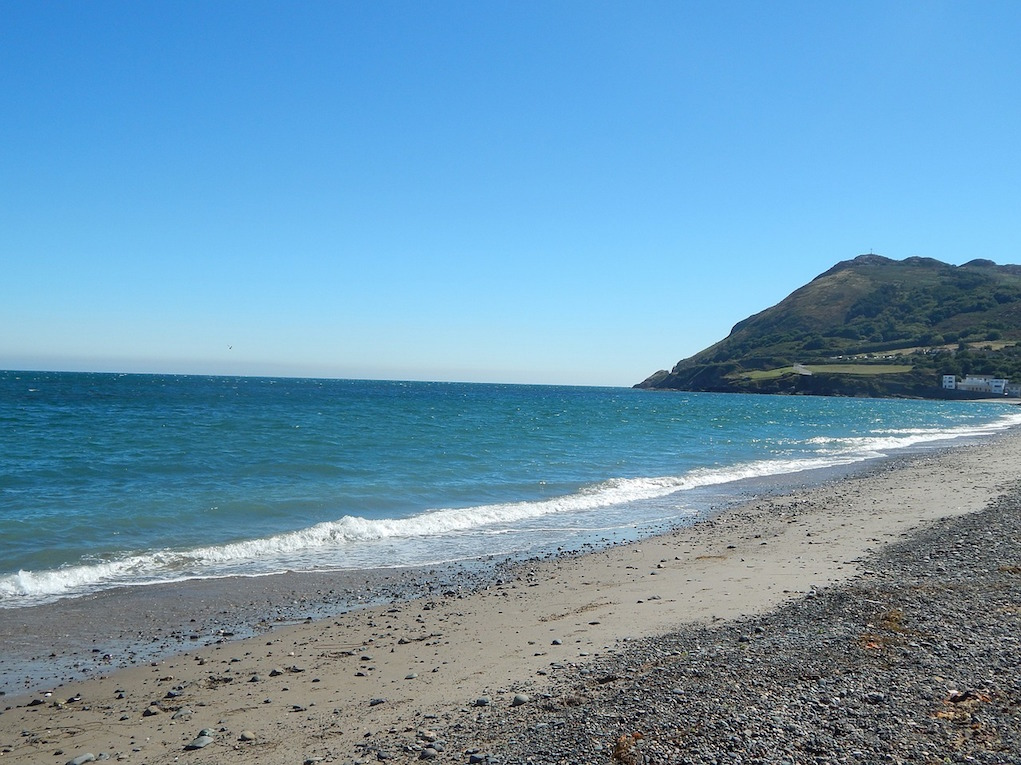 beach at Bray winter walks for families in Ireland