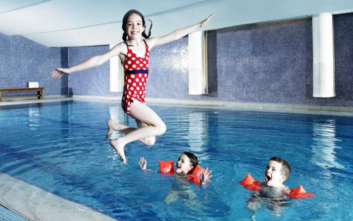 best family hotel pools in Ireland