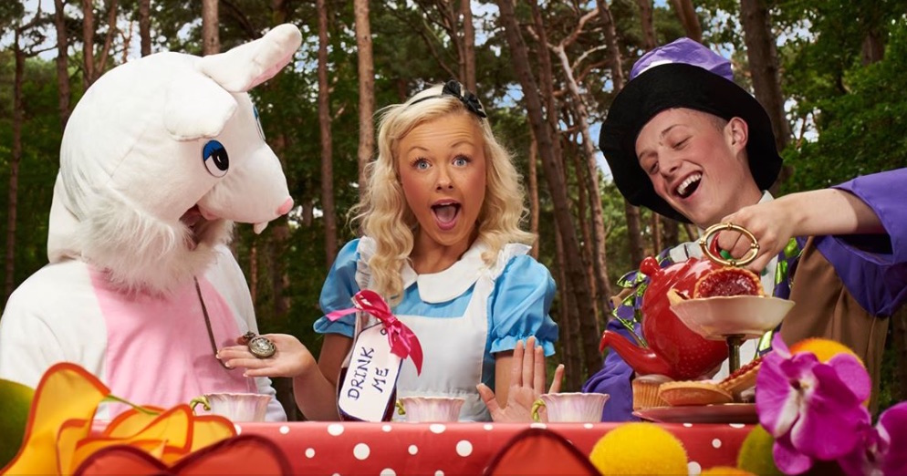 sensory christmas panto Coolmine Panto Group Alice in Wonderland at Draoicht