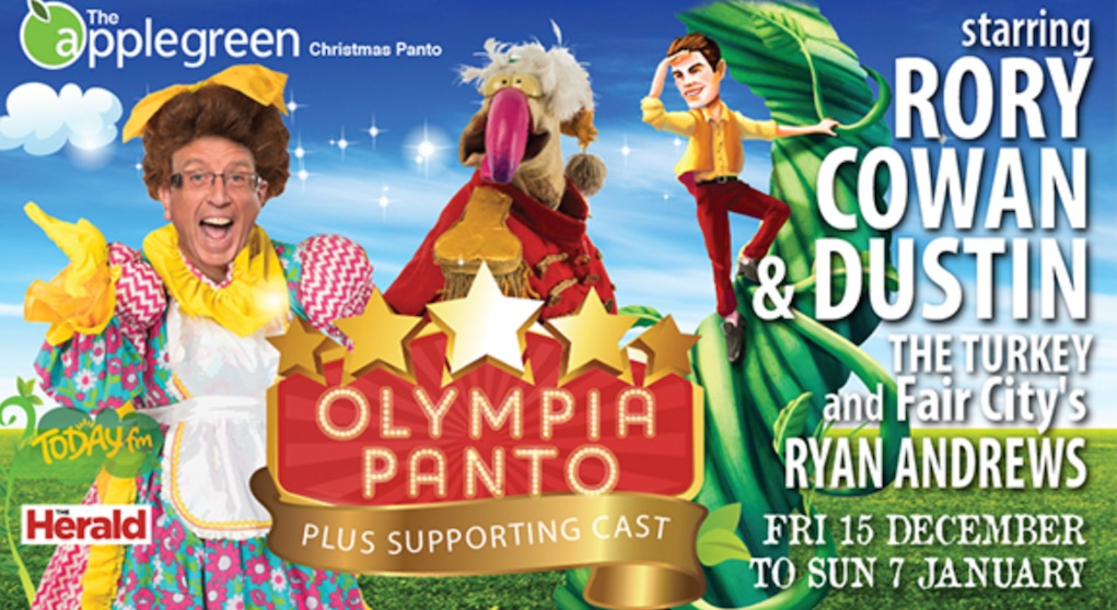 best pantos in Ireland Polly and the Beanstalk at the Olympia