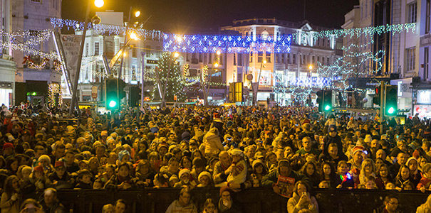 cork christmas lights