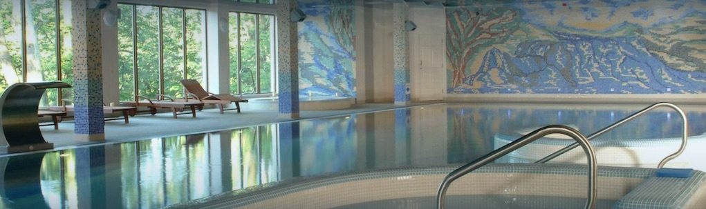 falls hotel and spa Clare best Hotel pools ireland
